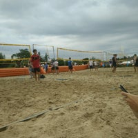 Photo taken at Beachvolleybal Gurdillo by Joost C. on 7/30/2016