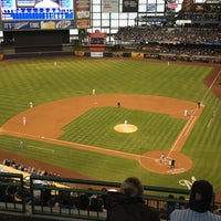 Photo taken at Miller Park by Caroline S. on 5/27/2013