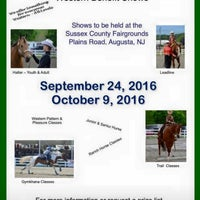 Photo taken at Sussex County Fair Grounds by Aspen C. on 9/24/2016