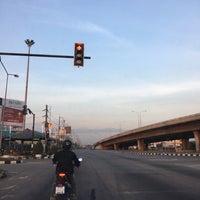 Photo taken at Bang Khu Wat Intersection by Kwan L. on 12/30/2017