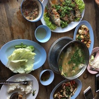Photo taken at ริมเขื่อน (Rim Khuean Restaurant) by Kwan L. on 10/22/2017