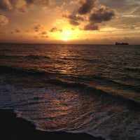 Photo taken at Fort Lauderdale Beach by Travis T. on 7/21/2013