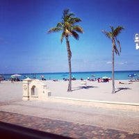 Photo taken at Hollywood Beach Boardwalk by Travis T. on 5/5/2013