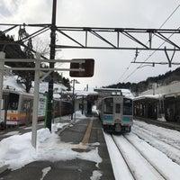 Photo taken at Minami-Otari Station by でい on 1/9/2018