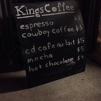 Photo taken at Kings Coffee by jaime s. on 10/19/2013