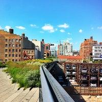 7/19/2013 tarihinde Tereza F.ziyaretçi tarafından High Line'de çekilen fotoğraf