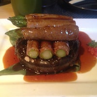 Photo taken at Sushi Roku by Debbie N. on 10/30/2012