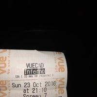 Photo taken at Vue Cinema by Erdem K. on 10/23/2016