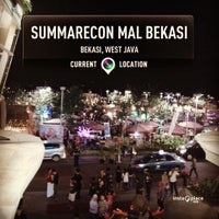 Photo taken at Summarecon Mal Bekasi by David K. on 10/5/2013