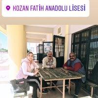 Photo taken at Kozan Fatih Anadolu Lisesi by Songül K. on 3/30/2018