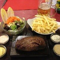 Photo taken at Restaurant Baregg by Alex A. on 2/16/2013
