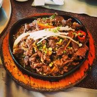 Photo taken at Auntie Kim's Korean Restaurant by Ranggie P. on 12/1/2014