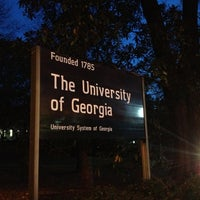 Photo taken at University of Georgia by Michael W. on 11/26/2012