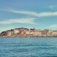 Photo taken at Port de Saint-Tropez by Luis G. on 5/21/2013