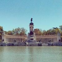Foto tomada en Parque del Retiro por Luis G. el 6/3/2013