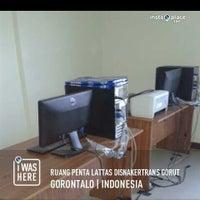 Photo taken at Ruang Penta Lattas Disnakertrans Gorut by Stella P. on 5/20/2013