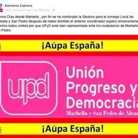 Foto scattata a UPyD Marbella da Antonio 🇪🇸Cabrera🇪🇸 il 10/31/2012