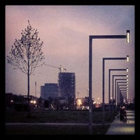 Photo taken at Park Spoor Noord by Amaury H. on 5/6/2013