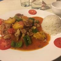 Photo taken at Sapa Lotus Restaurant by Mook P. on 2/3/2017