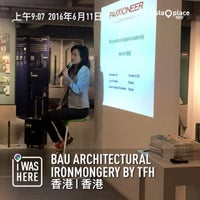 Photo taken at BAU Architectural Ironmongery By TFH by Simon L. on 6/11/2016