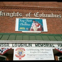 Photo taken at Knights of Columbus 1646 by Alicia R. on 11/24/2012