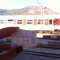Photo taken at ЖП Гара Своге (Svoge Railway Station) by Georgia L. on 10/20/2013