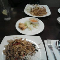 Photo taken at Cozy Thai Bistro by Johnny C. on 1/29/2013