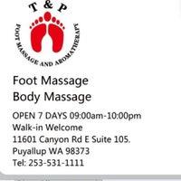 T&P Foot Massage and Aromatherapy