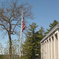 Photo taken at Hooksett Library by Ashley M. on 4/30/2013