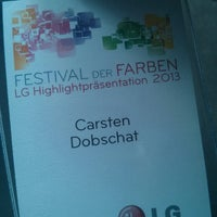 Photo taken at LGFestival by Carsten D. on 3/14/2013