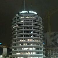 Photo taken at Capitol Records by Zamasu z. on 1/11/2017
