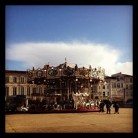 Photo taken at Place de Verdun by Nicolas M. on 11/21/2012
