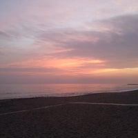 Photo taken at Playa Luna Beach by Alix W. on 12/28/2015