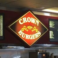 Photo taken at Crown Burger by John A. on 7/13/2016