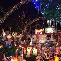 Photo taken at Oakdale Christmas House by Carrie K. on 12/9/2014