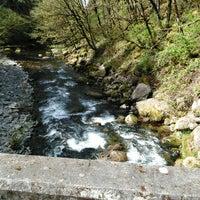 Photo taken at Wahclella Falls Trail by Michael B. on 4/6/2016