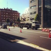 Photo taken at Plaza De La Paz by C. C. on 10/20/2012