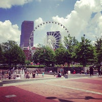 Photo taken at Centennial Olympic Park by Marc T. on 7/18/2013