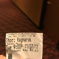 Photo taken at Cinemark Parker Square 14 by Sam A. on 11/8/2017