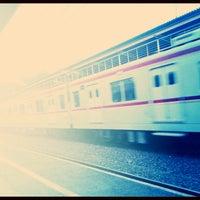 Photo taken at Stasiun Cawang by sindhu k. on 9/5/2013