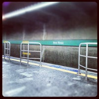 Photo taken at Ana Rosa Station (Metrô) by Pericles Tesone d. on 12/22/2012