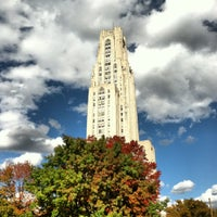 Photo taken at Cathedral of Learning by Brad G. on 10/19/2012