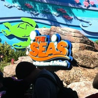 Photo taken at The Seas with Nemo & Friends by Auri R. on 12/27/2012