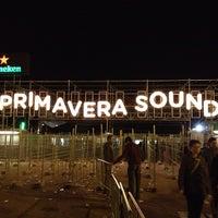 Photo taken at Primavera Sound by Alex M. on 5/24/2013