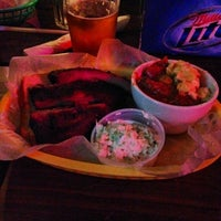 Photo taken at Fox Bros. Bar-B-Q by Justin P. on 1/14/2014