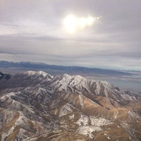 Photo taken at Salt Lake City International Airport (SLC) by Christien L. on 11/7/2013