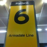 Photo taken at Platform 6 by Michael C. on 1/29/2013