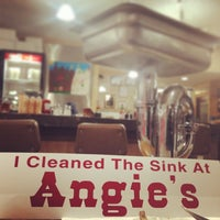 Photo taken at Angie's Restaurant by Sunny P. on 2/2/2014