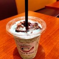 Photo taken at CAFÉ de CRIÉ 道玄坂上店 by Ryo@ on 6/26/2016
