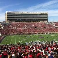 Photo taken at Jones AT&T Stadium by Heather on 11/10/2012